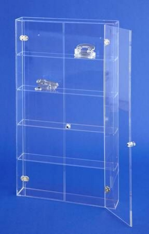 acrylglas wandvitrine moebel glanz specialist for acrylic glass furniture. Black Bedroom Furniture Sets. Home Design Ideas